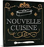 Gregory Gorham Gallery-Wrapped Canvas entitled Nouvelle Cuise