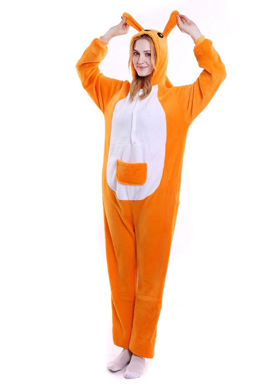 ABING® Halloween Pajamas OnePiece Onesie Cosplay Costumes Kigurumi Animal XP_ADULT