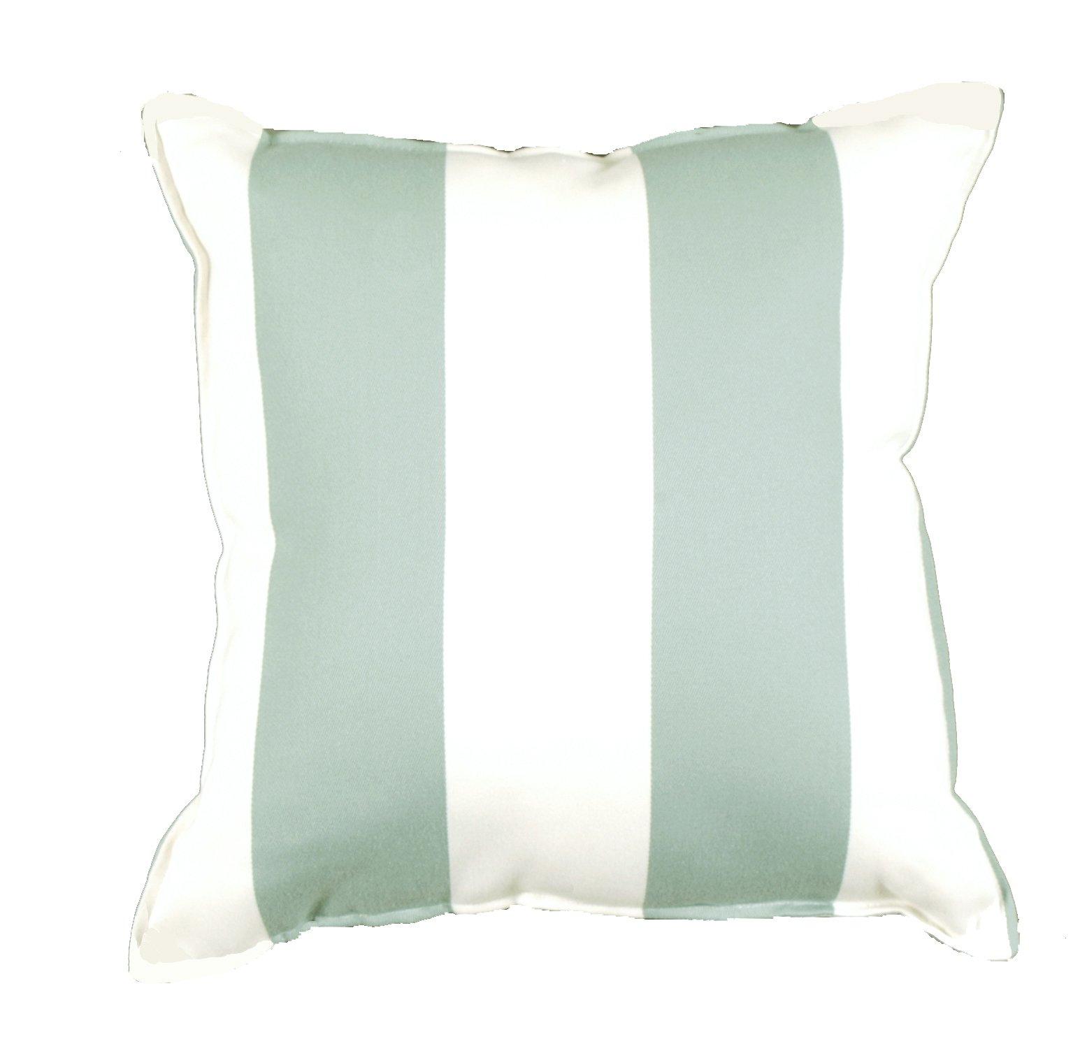 Cabana Stripe Spa Outdoor Pillow