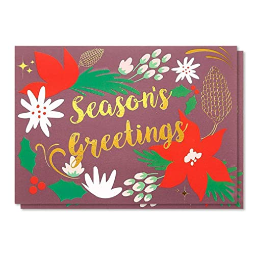 Holiday greeting cards amazon 48 pack merry christmas greeting cards bulk box set winter holiday xmas greeting cards m4hsunfo