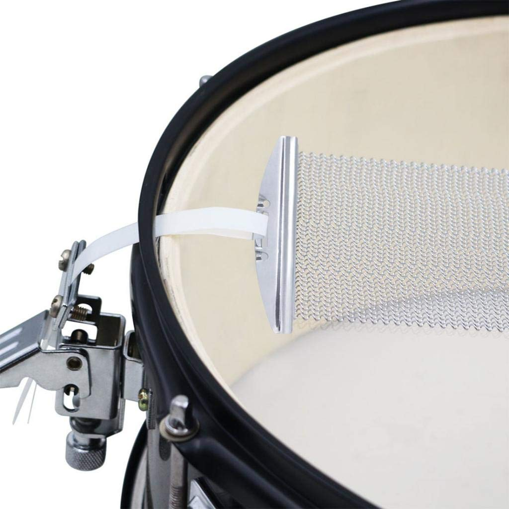 MagiDeal Durable Steel 14inch Snare Drum Wire Snare Cajon Box Drums Wire Percussion Instrument Part 30 Strand Silver