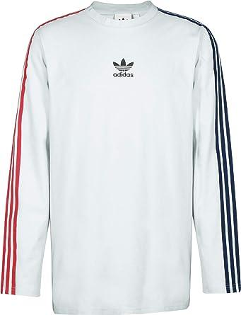 adidas stripes tee