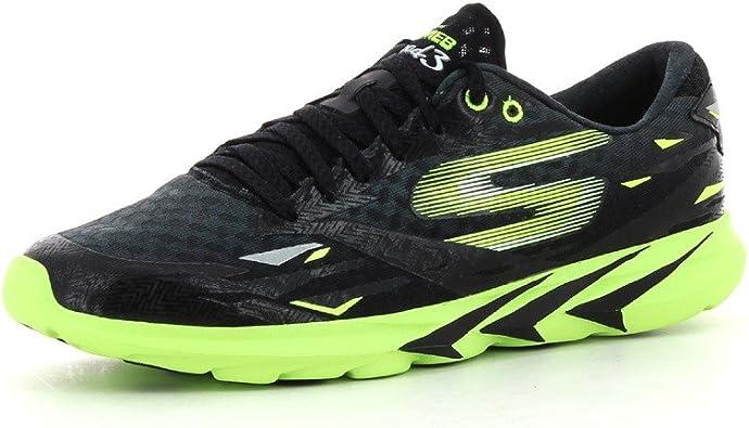 Skechers Go Meb Speed 3, Hombrs Zapatillas Running - negro/verde (BKGR), hombre, 43: Amazon.es: Zapatos y complementos