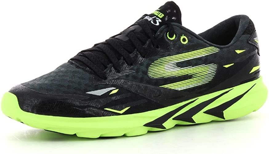 Skechers Go Meb Speed 3, Hombrs Zapatillas Running - negro/verde ...