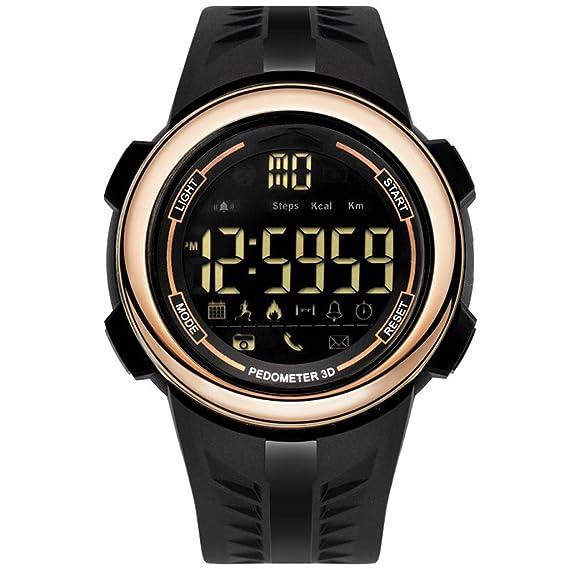 Reloj hombres Reloj Digital Deportivo Para Hombre Reloj Deportivo Impermeable Al Aire Libre Reloj Despertador/Temporizador Luz De Fondo LED Reloj De Gran ...