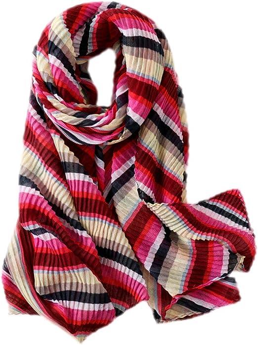 fablcrew Algodón Chal Invierno mujer bufanda para mujer de invierno bufanda para mujer rojo rojo 180×90cm: Amazon.es: Hogar