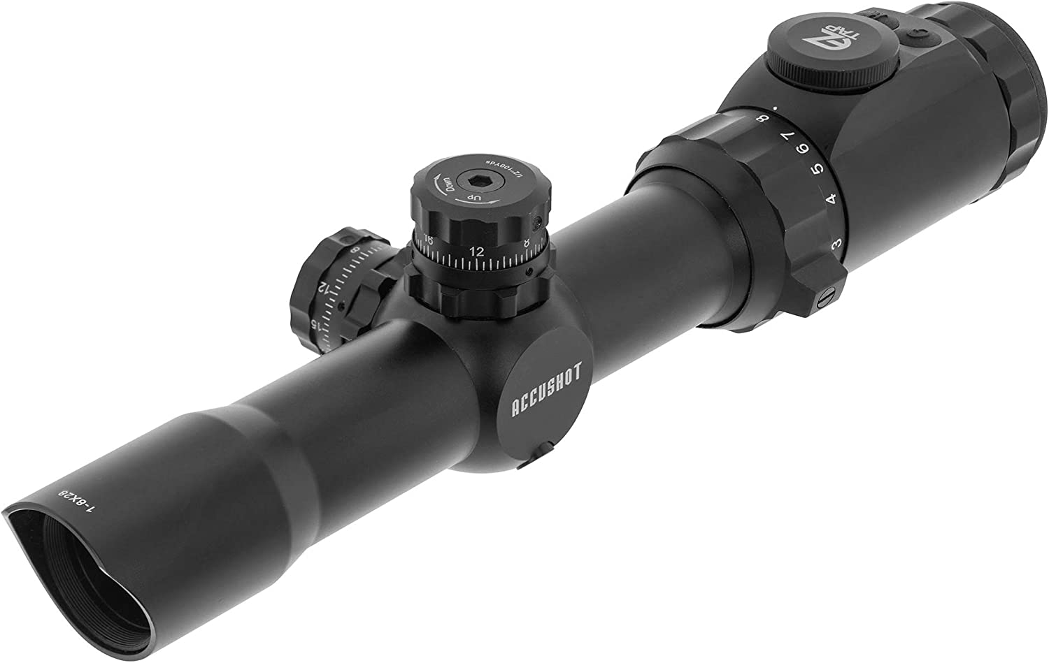 3. Leapers Inc UTG 1-8x28 mm Scope