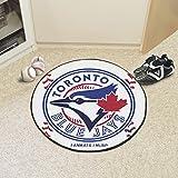 "Fanmats MLB - Toronto Blue Jays Baseball Mat Size=27"" diameter MLB-6359"