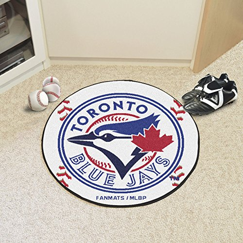 Baseball Floor Mat - Toronto Blue Jays