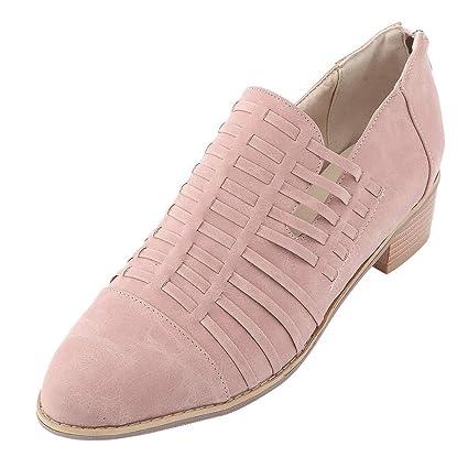 d9f698c5f04 Amazon.com: SUKEQ Women Autumn Boots, Fashion Faux Leather Low ...
