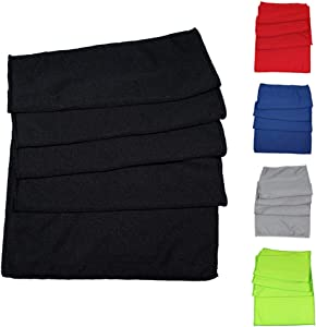 Cooling Towel – Set of 5 – Assorted Colors