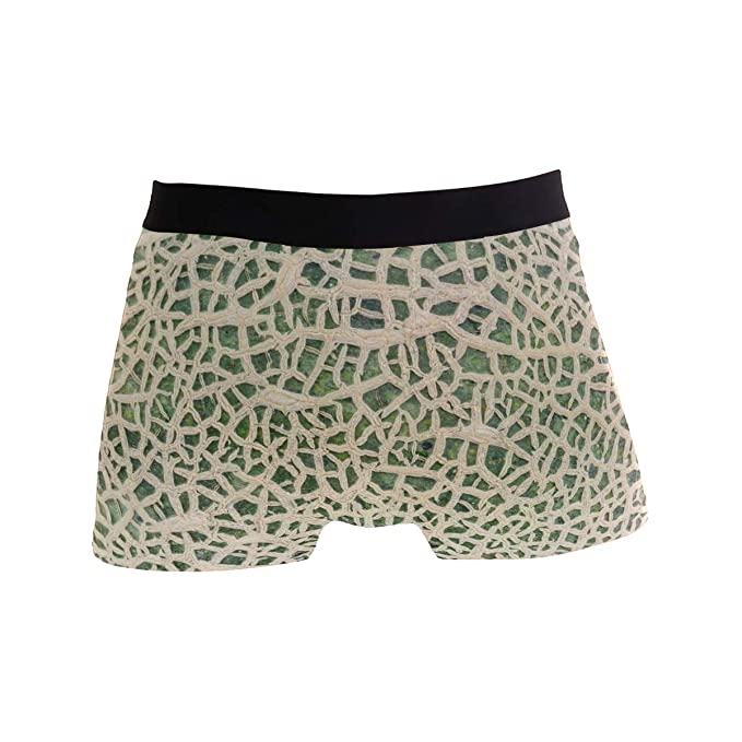 2fab140a8867 Image Unavailable. Image not available for. Color: Hami Melon Skin Comfortable  Men's Boxer Briefs Multi-Size Soft Underwear S