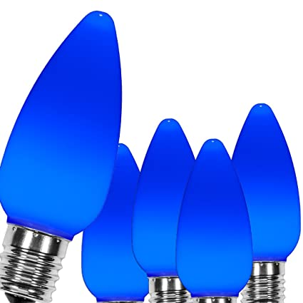 Wintergreen Lighting OptiCore Blue C9 LED Christmas Light Bulbs -  Replacement LED Christmas Lights Heavy Duty - Amazon.com : Wintergreen Lighting OptiCore Blue C9 LED Christmas