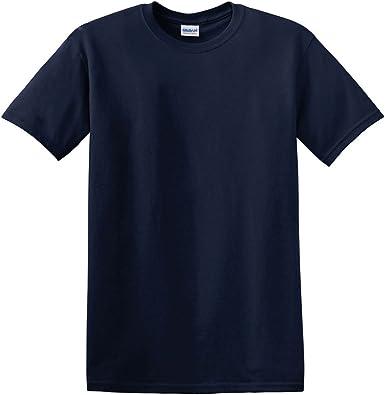 Gildan Hombre algodón Grueso Camiseta de 5, 3 oz (G500): Amazon.es: Ropa y accesorios