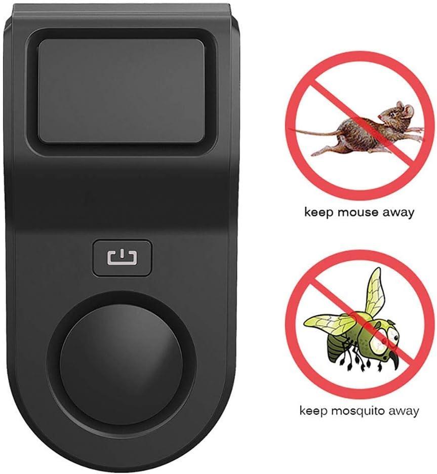Ultrasonidos repelente de plagas, Enchufe de interior en luz de la noche Control de plagas anti polillas, hormigas, chinches, pulgas, cucarachas, moscas, contra los ratones y Ratón Ultrasonido repelen
