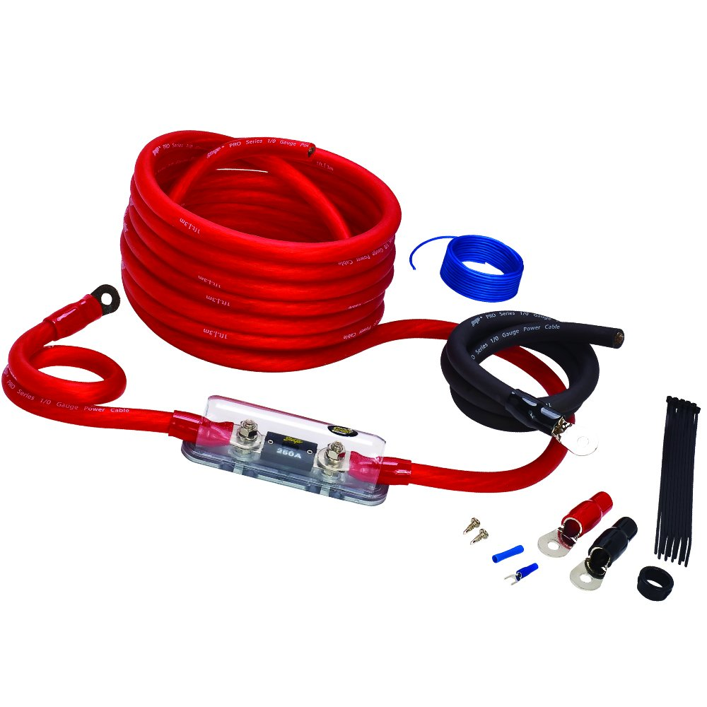 Stinger Wiring Harness Library Kit Instructions Amazoncom Sk4201 1 0 Gauge 4000 Series Power Amplifier Installation