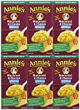 Annie's Homegrown Lower Sodium Macaroni & Cheese, 6 oz, 6 pk