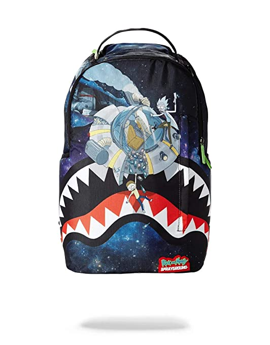 SPRAYGROUND BACKPACK RICK & MORTY CRASH