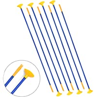 23 Inch Youth Sucker Arrows Safe Bow Suction Cup Arrows Safety Kids for Archery Bow Youth Outdoor Shooting Targeting Sports Game Toy 12 Pieces