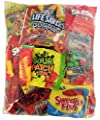 Assorted Candy (32 oz) of Gummy Bears, LifeSavers, Skittles, Starburst, Swedish Fish, Twizzlers, Nerds, Sour Patch, for Snacks