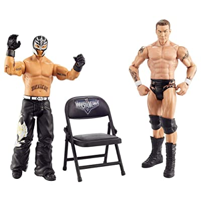 WWE Randy Orton & Rey Mysterio Wrestlemania 36 Mattel Action Figure 2-Pack Multi: Toys & Games
