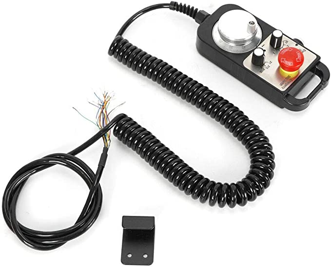 4 Achsen Wired MPG Anhänger CNC Mach3 Handrad Controller mit Not-Aus DHL
