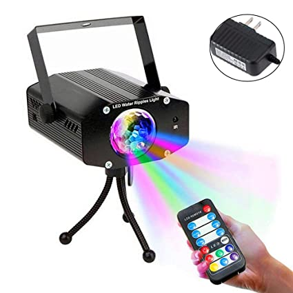 Party Lights, SOLMORE 7 Color Sound Activated Strobe Lights LED DJ Lights  Stage Disco Ball