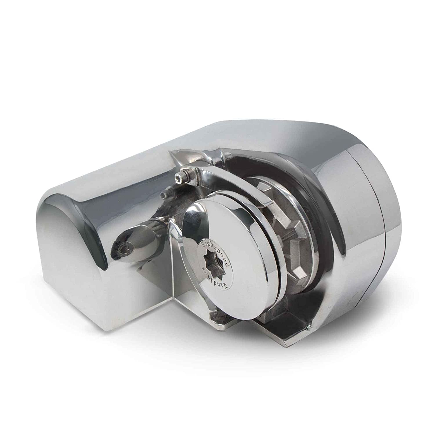 S612 Marine Horizontal Stainless Steel Anchor Windlass 600W - Heavy Duty - Require rope and chain in the description - (All Accessories Included)- Five Oceans BC-3930