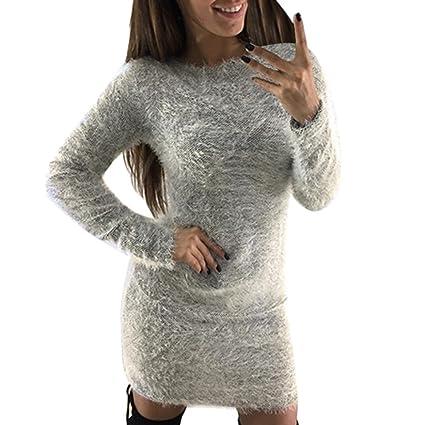 Vestidos de lana mujer