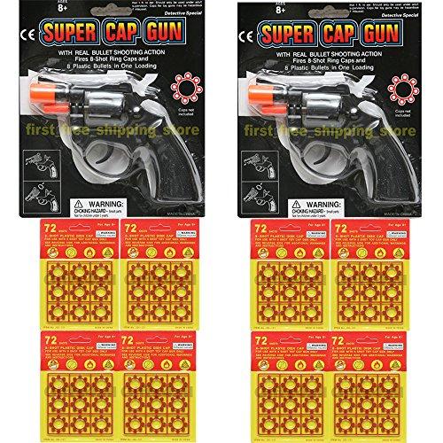 Toy Cap Gun Set of 2 Police Style