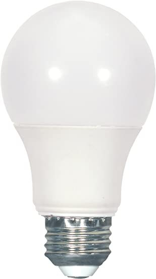 9.8W =60W Dimmable A19 LED 27K Warm White Frosted Medium E26 Base Bulb 2 Pack