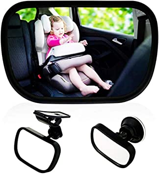 Car Back Seat Vision Car Mirror for Baby Front View Infant Rear Ward Safty