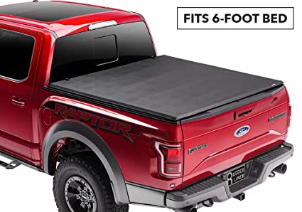 3be8920cd5a Amazon.com  Rugged Liner Premium Soft Folding Truck Bed Tonneau ...
