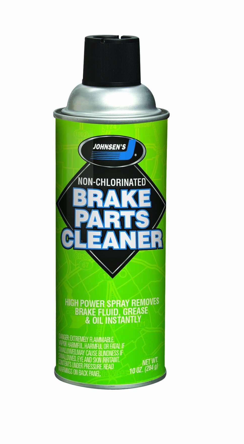 Johnsen's 2418NC-12PK VOC Compliant Non-Chlorinated Brake Cleaner - 10 oz, (Pack of 12)