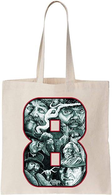 KRISSY The Hateful Eight 8 Tarantino Design Algodón Bag Tote Bag ...