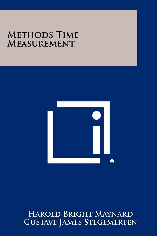 Read Online Methods Time Measurement pdf