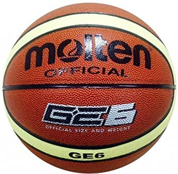 Amazon.com : Molten Official Ge6 Indoor/outdoor Basketball - Size ...