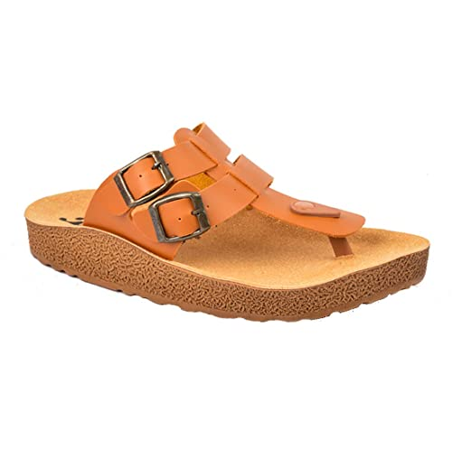 c143fac1aeceb9 AEROWALK Mens Sandal and Slipper for Formal and Casual use – Colour Tan -  Size 6 to 11 Inch – Chappal for Mens Casual - Slippers for Men – Gents  Chappal ...