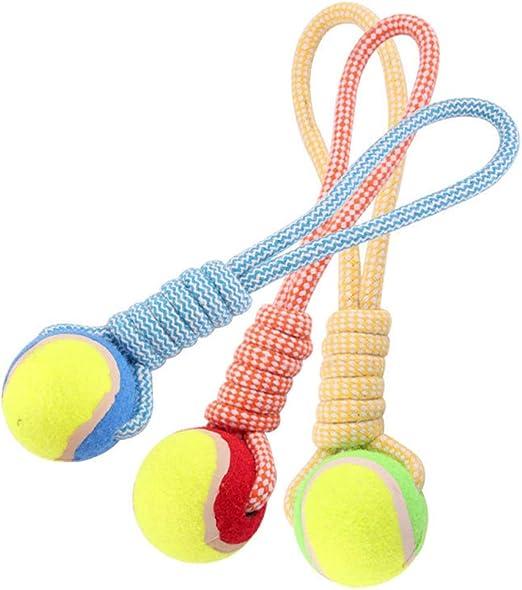 Juguetes para Mascotas, Cuerda De Pelota De Algodón Pintada A Mano ...