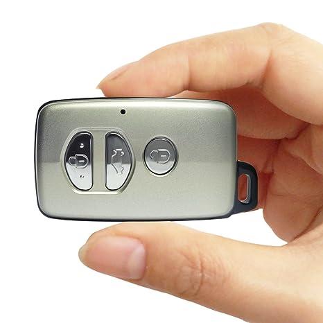 Cámara Oculta HD Llavero cámara matecam espía CAM Detector de Movimiento 1080P Mini DVR Grabadora de