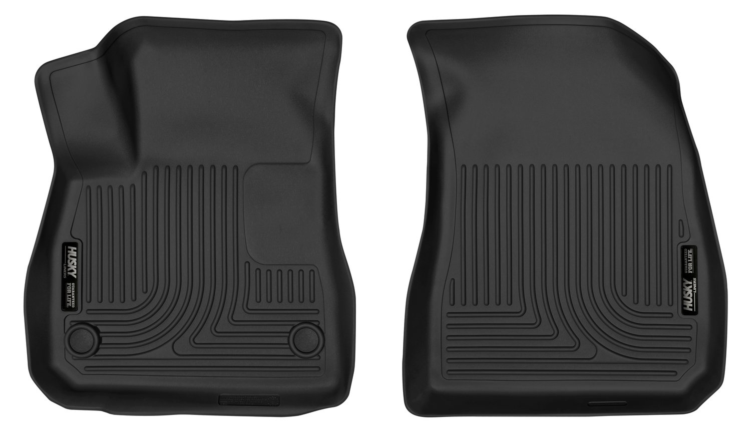 Husky Liners 52271 Black Front Floor Liners Fits 16-18 Chevrolet Malibu by Husky Liners (Image #1)