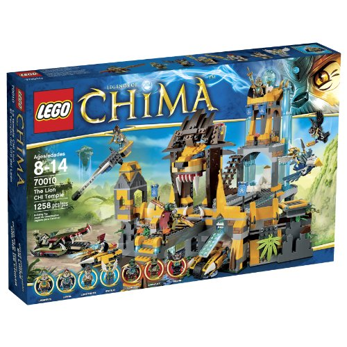 LEGO-Chima-70010-The-Lion-CHI-Temple-Discontinued-by-manufacturer