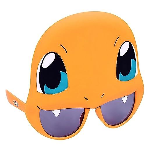 09015acdd8c8 Sun-Staches Costume Sunglasses Pokemon Charmander Party Favors UV400 at  Amazon Women s Clothing store