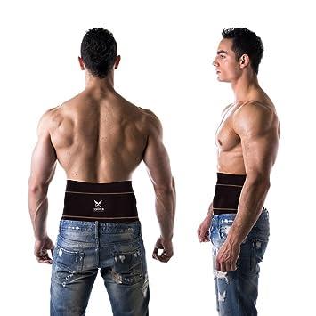 b2af2b1d7c Copper Compression Gear PREMIUM Fit Back Brace Lower Lumbar Support Belt.  Adjustable For Men