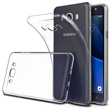 sale retailer 9287a 43d3e Simpeak For Samsung Galaxy J5 2016 Case, [1 Pack] Soft TPU Transparent Slim  Fit Protector Case for Samsung Galaxy J5 2016 5.2