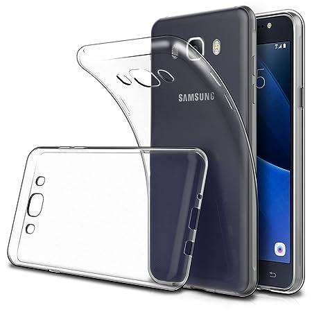 Simpeak Ersatz Samsung Galaxy J5 2016 Hülle (2 Pack), Schutzhülle Ersatz Samsung Galaxy J5 2016 Hülle Silikon Transparent [ N