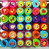 9Snail 36PCS. Self-ink Stamps Kids Party Favors Event Supplies for Birthday Party Gift Toys Boy Girl Goody Bag Pinata Fillers