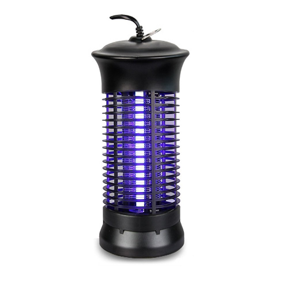 Irzagnl Bug Zapper, Mosquito Killer Trap Lamp with Hook Indoor Light Low Power Consumption, With 360°UV Light Large Coverage fly zapper for Home, Garden, Yard, Kitchen