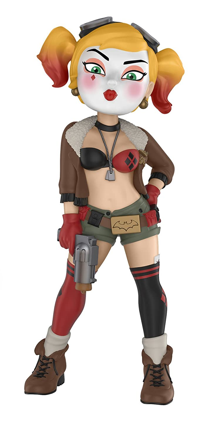 Funko Rock Candy: DC Bombshells-Harley Quinn Collectible Figure, Multicolor 32099