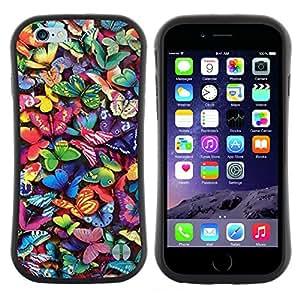 "Hypernova Slim Fit Dual Barniz Protector Caso Case Funda Para Apple (5.5 inches!!!) iPhone 6 Plus / 6S Plus ( 5.5 ) [Vibrante colorido Naturaleza mosca de verano""]"
